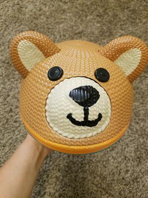Schwinn 3D Teddy Bear Helmet, Size Infant for Sale in Greensboro, NC