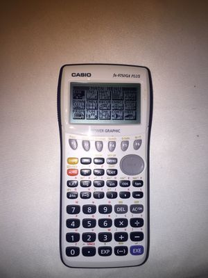 """Casio scientific calculator """"fx-9750ga plus"""" for Sale in Lakeland, FL"""