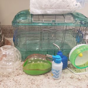 Gerbil Cage With Accessories for Sale in Hialeah, FL