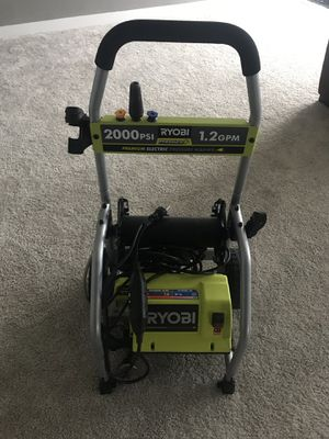 Ryobi 2000 psi pressure washer for Sale in Shoreline, WA
