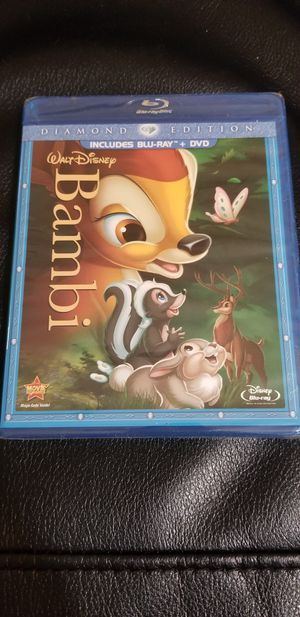 Bambi Movie Diamond Edition for Sale in Houston, TX