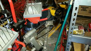 12 in DeWalt compound miter saw for Sale in Charlottesville, VA