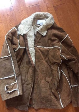 Vintage Wilson's Suede Sherpa Jacket Large for Sale in Torrance, CA