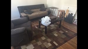 Couch futon coffee table for Sale in Secaucus, NJ