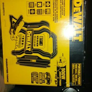 Dewalt Jump Box/Portable Power/Digital Air Compressor for Sale in Bonney Lake, WA
