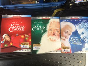 Santa Clause 1, 2 & 3 for Sale in San Bernardino, CA