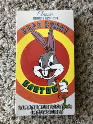 Bugs Bunny Classic Tribute Edition Cartoons Vintage 1989 VHS Tape 1989 -- NEW!! Brand New. Sealed. for Sale in Frisco, TX