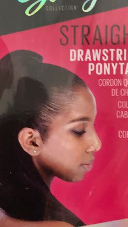 """Sassy Collection Straight Drawstring Ponytail Size 26"""" New for Sale in Orlando,  FL"""