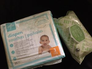 Pampers and wipes for Sale in Plano, TX