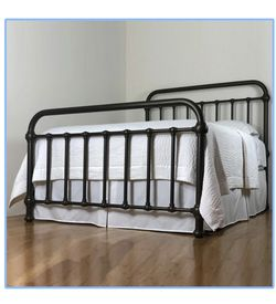 Wesley Allen Iron/brass King Bed Frame Only for Sale in Monterey Park,  CA