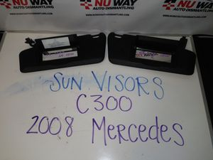 2008 Mercedes C300 Black sunvisor for Sale in Los Angeles, CA