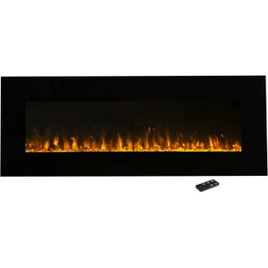 Northwest Wall-mounted 54-inch Electric Fireplace with Remote for Sale in Prospect Heights, IL