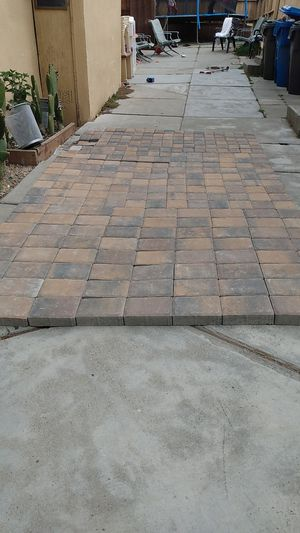 Brick pavers for patios 11 in a half long 6 in a half width for Sale in Seaside, CA