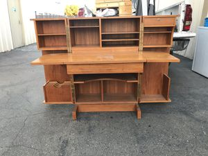 Vintage antique very nice desk for Sale in Newman, CA