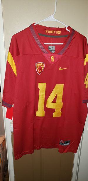 Men's XL USC Trojans Jersey New with Tags Stiched Nike $45. Ships +$3. Pick up in West Covina for Sale in West Covina, CA
