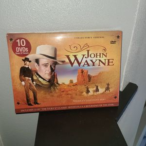 (10) JOHN WAYNE DVDS ALL LIKE NEW for Sale in Palm Bay, FL