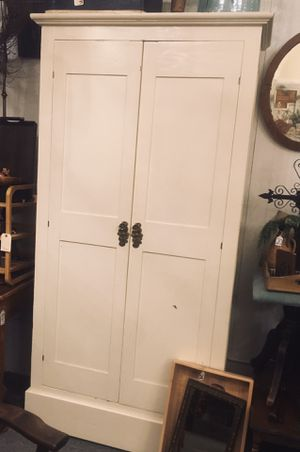 Beautiful Cream Vintage Armoire for Sale in Snohomish, WA