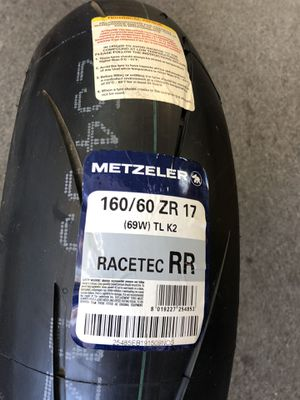Metzeler Racetec RR track day sport tire 160/60-17 new for Sale in Los Angeles, CA