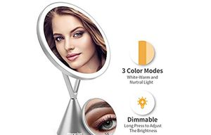 Vanity mirror with 60 LED touch screen for Sale in Queens, NY