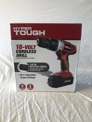 Hyper Tough 18 Volt Cordless Drill for Sale in Armstrong, IA