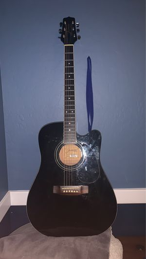 Jasmine JD39CE-BLK J-Series Dreadnought with Electronics Black for Sale in Gilbert, AZ