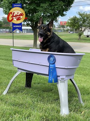 Booster Bath Elevated Pet Bathing Tub, Large, includes steps. for Sale in Henderson, NV