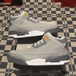 "Nike Air Jordan 3 Retro ""Cool Grey"" Size 9,9.5,10,13,13 100% Authentic 100% Brand New for Sale in Philadelphia,  PA"