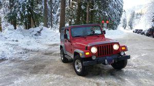 Jeep Wrangler TJ for Sale in Marysville, WA