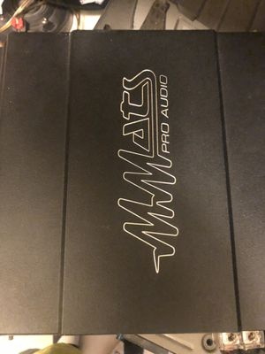 Mmats ProAudio Amp for Sale in Bradenton, FL