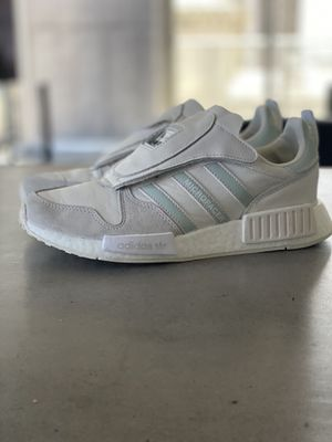 NEW adidas Micropacer x R1 Triple White MSRP $230 men's 7/ women's 8.5 for Sale in Miami, FL