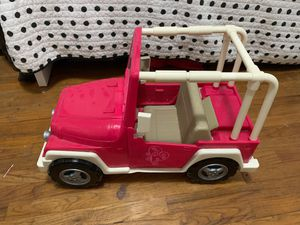 Next generation doll Jeep for Sale in Whittier, CA