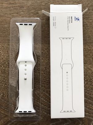 Apple Watch White Wristband (38mm) for Sale in Miami, FL