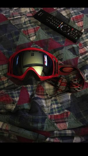 Oakley Crowbar Snowboard goggles with custom lens for Sale in Arlington, VA