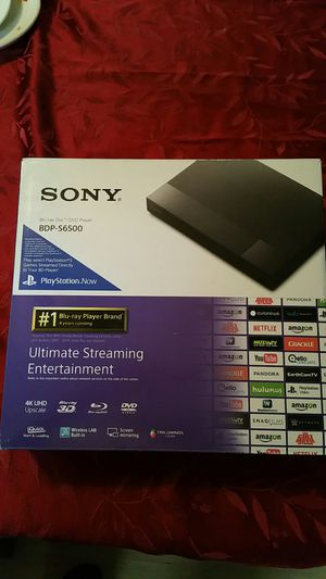 Sony. ,Blue -ray ,4K UHD Upscale DVD player new in original box. for Sale in US