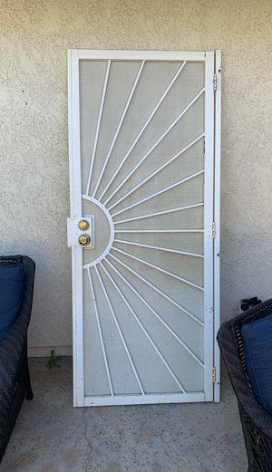 Security screen door for Sale in Redlands, CA