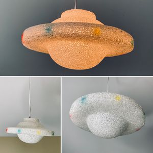 Vintage Mid Century UFO Hanging Light By Ting Shen for Sale for sale  Portland, OR