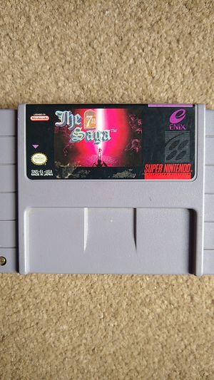 The 7th Saga Super Nintendo (SNES) Authentic for Sale in Lynnwood, WA