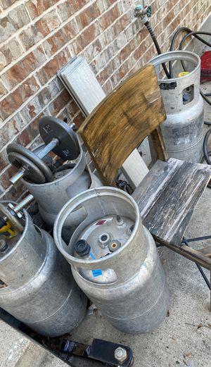 Forklift propane tanks for Sale in Dallas, TX