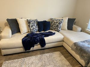 L shape couch, Good condition for Sale in Atlanta, GA