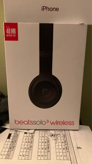 Beats solo 3 wireless for Sale in West Haven, CT