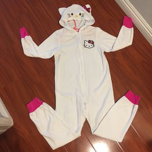 Girl's Hello Kitty onesie pajamas size Large for Sale in Hacienda Heights, CA