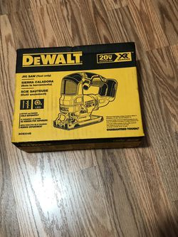 DeWalt 20-Volt MAX XR Cordless Brushless Jigsaw (Tool-Only) for Sale in Portland,  OR