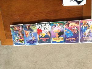 Disney VHS Movies from 1988-1993 for Sale in Germantown, MD