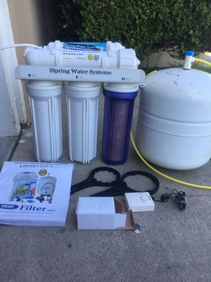 I spring water systems for Sale in Fullerton, CA