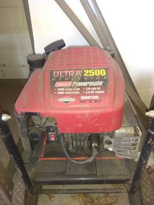 Ultra 2500 coleman generator for Sale in Peoria, AZ