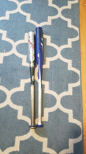 2 baseball bats for Sale in Harwinton, CT