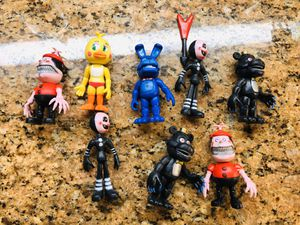 FNAF Five Nights style Action Figures Freddy Toys for Sale in Rancho Cucamonga, CA