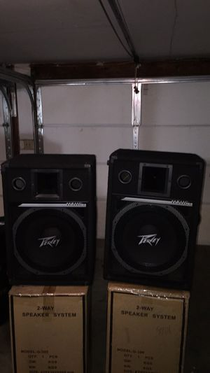 Peavey 15 inch floor monitors 600 watts for Sale in Raytown, MO