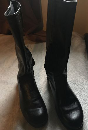 Girls black boots size 3 for Sale in Visalia, CA