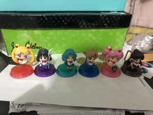Sailor moon figures set winky eyes for Sale in Los Angeles, CA